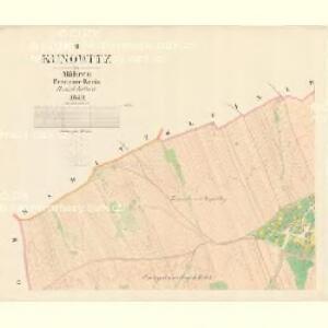 Kunowitz - m1436-1-002 - Kaiserpflichtexemplar der Landkarten des stabilen Katasters