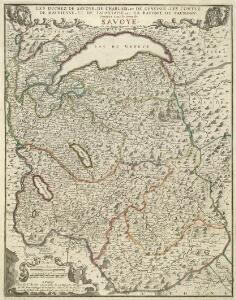 Les Duchez De Savoye, De Chablais, Et De Genevois, Les Comtez De Maurienne, Et De Tarantaise, et La Baronie De Fausigny Connues sous le nom de Savoye