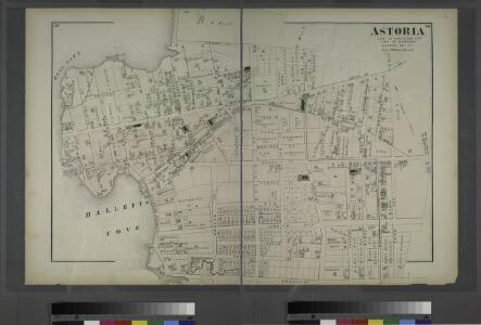 Astoria. Part of Long Island City, Town of Newtown, Queens Co. L.I.