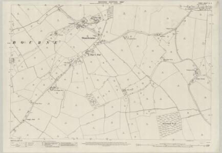 Essex (1st Ed/Rev 1862-96) XI.5 (includes: Stambourne; Toppesfield) - 25 Inch Map