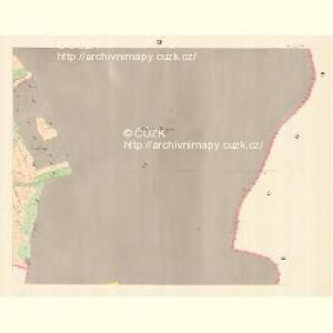Glasdörf (Sklena Wes) - m2733-1-008 - Kaiserpflichtexemplar der Landkarten des stabilen Katasters