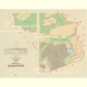 Mallonitz (Malonice) - c4436-1-002 - Kaiserpflichtexemplar der Landkarten des stabilen Katasters