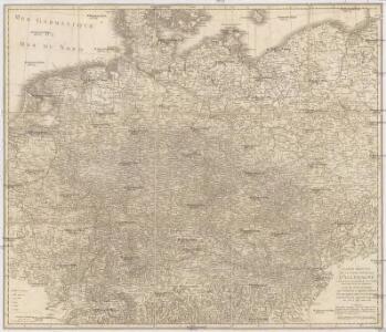 Carte reduite de la Carte générale d'Allemagne