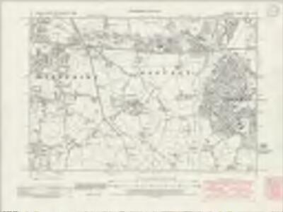 Cheshire XVIII.NE - OS Six-Inch Map