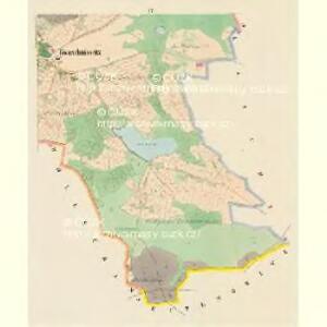Kwaschniowitz (Kwassniowic) - c3746-1-004 - Kaiserpflichtexemplar der Landkarten des stabilen Katasters