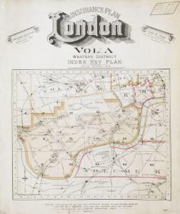 Insurance Plan of London Western District Vol. A: Key Plan