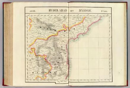 Hyderabad et Mysore. Asie 103.