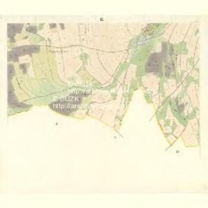 Sponau (Spalow) - m2820-1-007 - Kaiserpflichtexemplar der Landkarten des stabilen Katasters