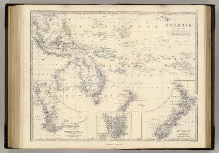 Oceania.