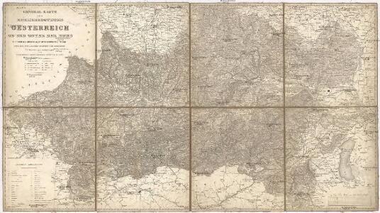 General Karte des Erzherzogthums Oesterreich ob und unter der Enns