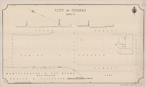 City of Sydney, Sheet P3, 1888
