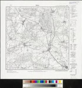 Meßtischblatt 2853 : Bahn, 1924