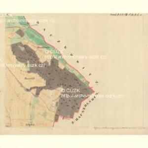 Dantschowitz - m0415-1-005 - Kaiserpflichtexemplar der Landkarten des stabilen Katasters