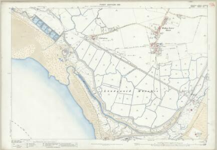 Suffolk LXXXIX.8 (includes: Felixstowe; Trimley St Mary) - 25 Inch Map