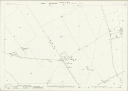 Hampshire and Isle of Wight XXXII.7 (includes: Barton Stacey; Chilbolton) - 25 Inch Map