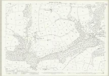 Devon XXXIII.4 (includes: Oakford; Rackenford; Stoodleigh) - 25 Inch Map