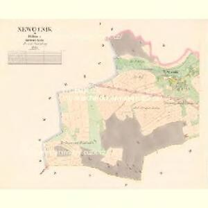 Newotnik - c5306-1-001 - Kaiserpflichtexemplar der Landkarten des stabilen Katasters