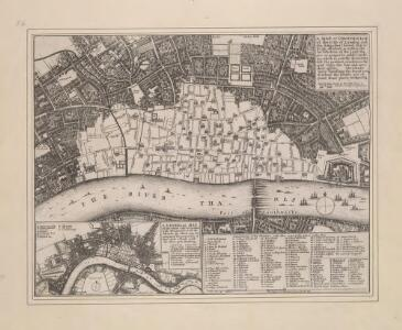 A MAP or GROVNDPLOT of the Citty of London within the Suburbes thereof