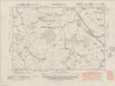 Staffordshire XVI.NE - OS Six-Inch Map