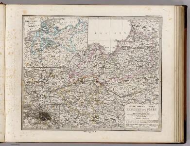 Die Preussischen Provinzen Preussen Und Posen.