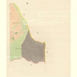 Borschütz - m0176-1-007 - Kaiserpflichtexemplar der Landkarten des stabilen Katasters
