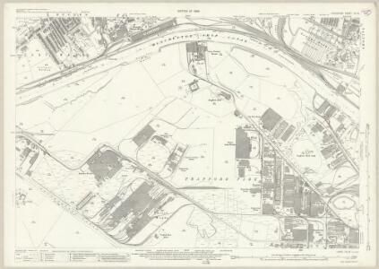 Lancashire CIII.12 (includes: Davyhulme; Eccles; Salford; Stretford) - 25 Inch Map
