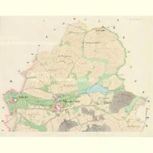 Mnierzenitz (Mněřenitz) - c4708-1-001 - Kaiserpflichtexemplar der Landkarten des stabilen Katasters