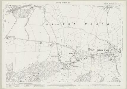 Somerset XXXI.9 (includes: Berkley; Chapmanslade; Dilton Marsh) - 25 Inch Map