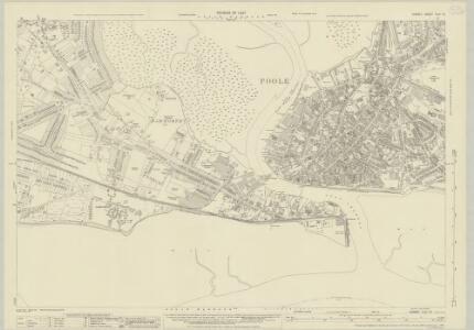Dorset XLIII.16 (includes: Arne; Poole) - 25 Inch Map