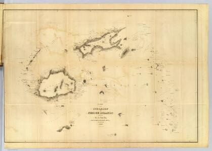 Chart of the Viti Group or Feejee Islands.