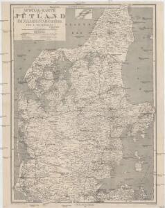 Special-Karte von Jütland im Maassstabe 1:400.000