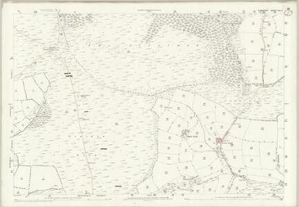 Somerset LVII.6 (includes: Dulverton; Winsford) - 25 Inch Map
