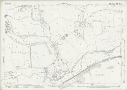 Essex (New Series 1913-) n XLI.16 (includes: Eastwick; Gilston; High Wych; Netteswell; Sawbridgeworth) - 25 Inch Map
