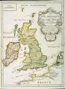 Carte des isles britaniques, où sont les royaumes d'Angleterre, et d'Escosse, que nous appellons Grande Bretagne
