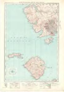 The Cuillins, Rhum  & Canna (34) - OS One-Inch map