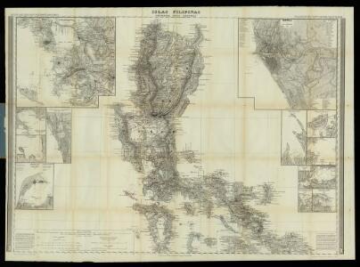 Islas Filipinas, 1a hoja / por el teniente coronel de ingenieros D. Francisco Coello ; las notas estadisticas e historicas han sido escritas por D. Pascual Madoz