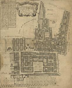 The PARISH of ST. JAMES'S, Westminster, taken from the last Survey with Corrections 2