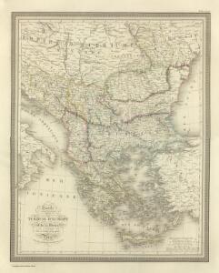 Composite:  Carte de la Turque d'Europe et de la Grece.