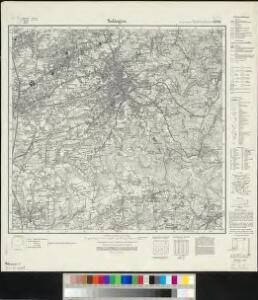 Meßtischblatt 2781 : Solingen, 1934