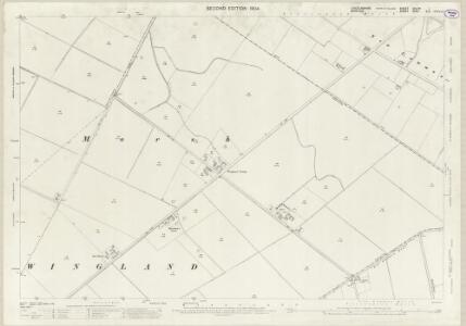 Lincolnshire CXLIVA.1 (includes: Central Wingland; Terrington St Clement) - 25 Inch Map