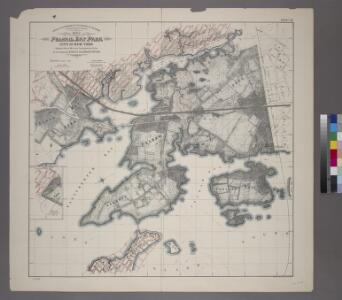 Sheet 29: Map of Pelham Bay Park, City of New York, forming sheet 29 of the Topographical Atlas of the Territory East of the Bronx River.