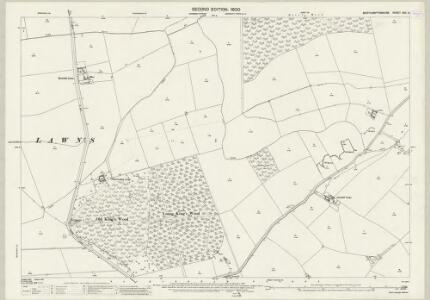 Northamptonshire XVII.6 (includes: Corby; Cottingham; Middleton; Oakley) - 25 Inch Map