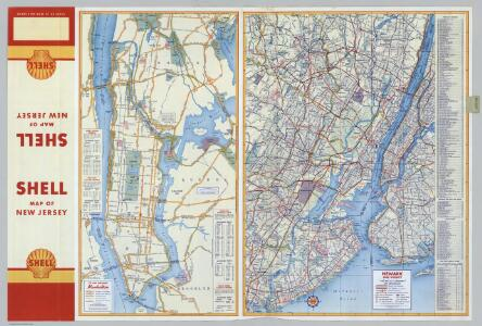 Various Regions and Cities in New Jersey, New York.