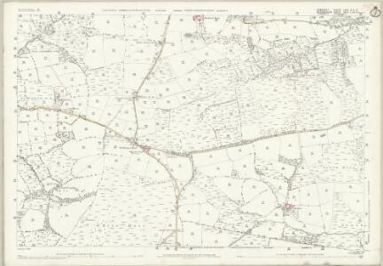 Somerset LXVII.9 & 13 (includes: Brushford; Dulverton; East Anstey; Oakford) - 25 Inch Map