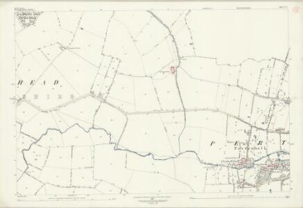 Bedfordshire V.5 (includes: Bolnhurst and Keysoe; Kimbolton; Pertenhall; Swineshead) - 25 Inch Map