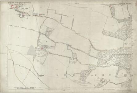 Oxfordshire LII.8 (includes: Checkendon; Ipsden; South Stoke) - 25 Inch Map