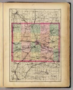 (Map of Jackson County, Michigan)