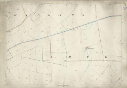 Lincolnshire X.9 (includes: Amcotts; Luddington) - 25 Inch Map