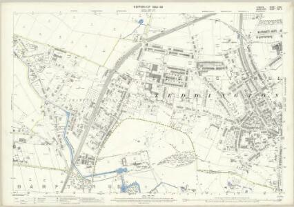 London (Edition of 1894-96) CXXXI (includes: Twickenham St Mary The Virgin) - 25 Inch Map