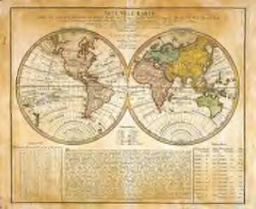Neue Welt=Karte